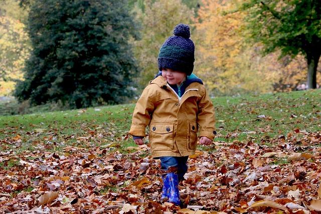 procházka v listí