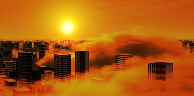 smog ve městě