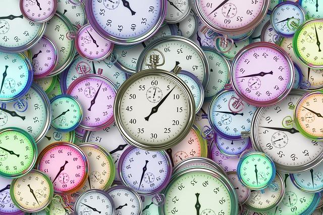 čas na stopkách
