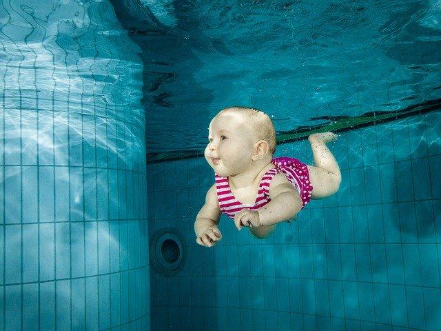 Potápění novorozence